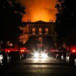 موزه ملی برزیل طعمه حریق شد