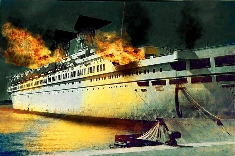 محل غرق شدن کشتی رافائل