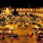 پلان معماری هتل عباسی اصفهان,عکس هایهتل عباسی اصفهان,کاروانسرای مادر شاه