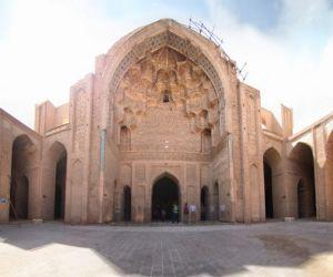 تصاویر مسجد جامع ورامین تهران,جاذبه تاریخی ورامین,جاذبه شهر ورامین