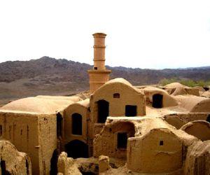 تاریخچه مسجد جامع و حسینیه خرانق,جاذبه هاب گردشگری یزد,جاذبه های تاریخی یزد