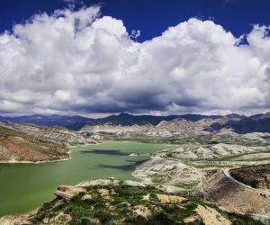 آدرس سد تبارک,تور مشهد گردی,دریاچه تبارک در قوچان