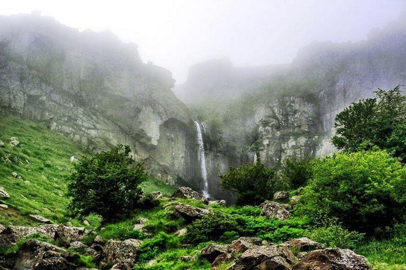 آبشار ورازان,آبشار ورزان در تالش,آبشار ورزان گیلان