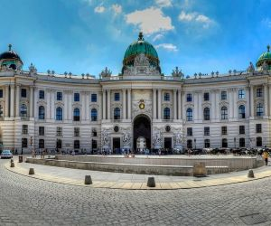 جاذبه های گردشگری اتریش,عکس کاخ سلطنتی هافبورگ,قصر هافبورگ