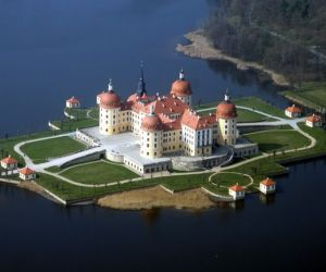 جاذبه های تاریخی آلمان,جاذبه های گردشگری آلمان,عکس قصر موریتزبرگ