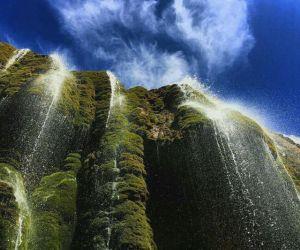 آبشار پونه زار,آبشار پونه زار اصفهان,آبشار پونه زار در فریدون شهر