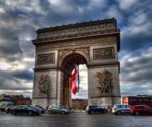 جاذبه های تاریخی فرانسه,طاق پيروزي پاريس,طاق پیروزی پاریس