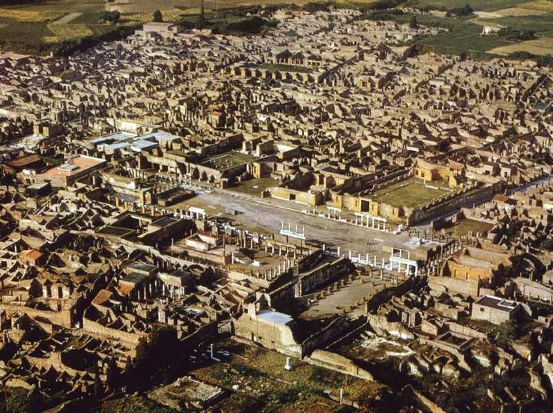تاریخچه ای از شهر پمپئی