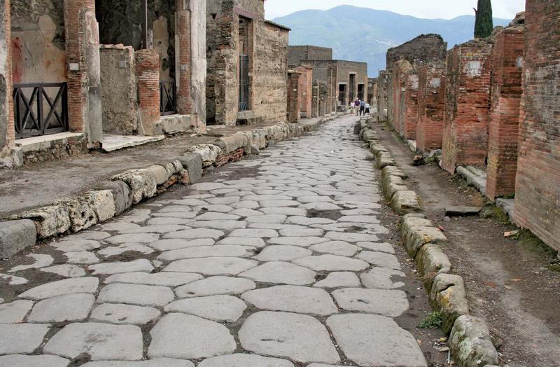 داستان شهر پمپئی ایتالیا