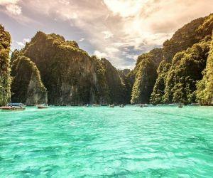 تصاویر خلیج مایا تایلند,جاذبه گردشگری تایلند,جاذبه های توریستی تایلند